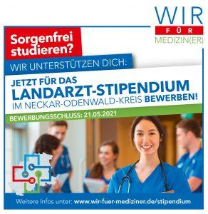 Landarztstipendium Neckar-Odenwald-Kreis