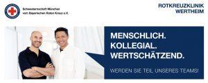 Die Rotkreuzklinik Wertheim sucht einen Assistenzarzt (m/w/d) für die Allgemein- und Viszeralchirurgie