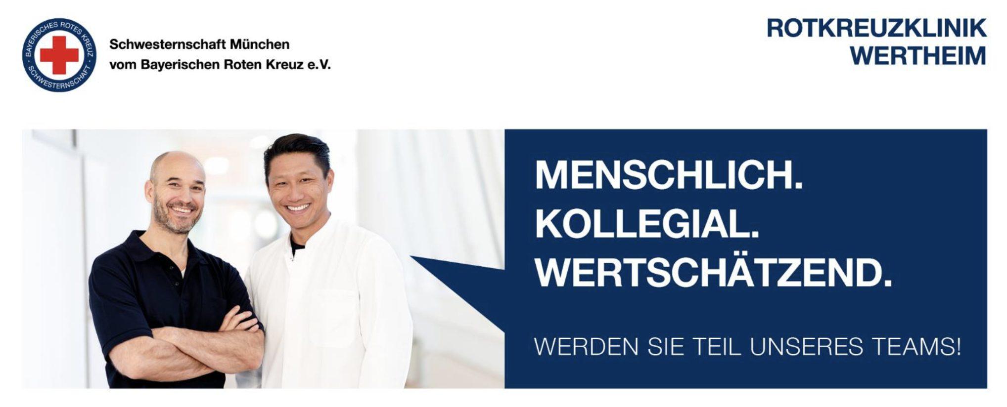 You are currently viewing Die Rotkreuzklinik Wertheim sucht einen Assistenzarzt (m/w/d) für die Allgemein- und Viszeralchirurgie