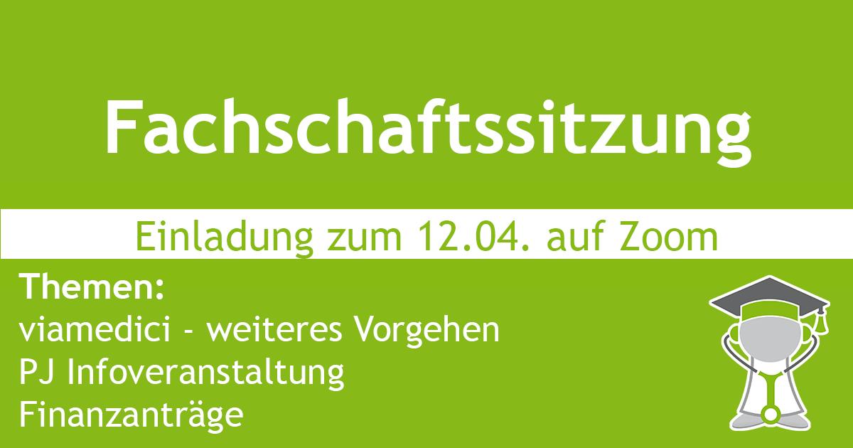Fachschaftssitzung am 12.04. +++ viamedici – weiteres Vorgehen +++