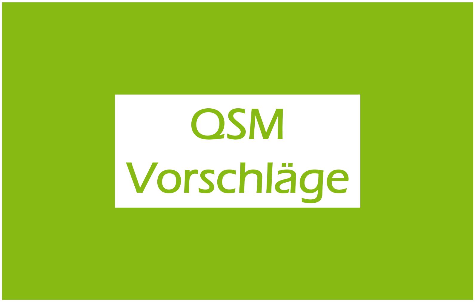 You are currently viewing QSM-Vorschläge 21/22 gesucht