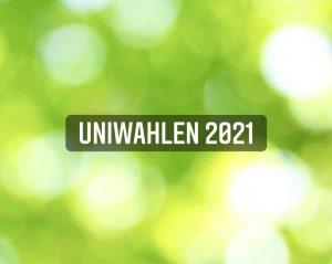 Read more about the article Uniwahlen 2021 – Ihr habt gewählt!