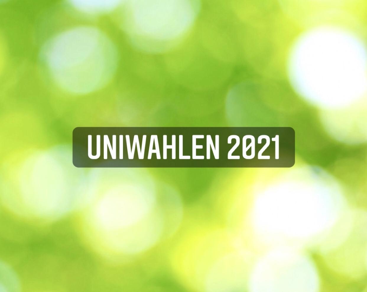 You are currently viewing Uniwahlen 2021 – Ihr habt gewählt!