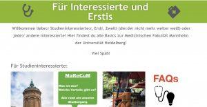 Read more about the article Wir haben eine neue Webseite für Studieninteressierte und Erstis!