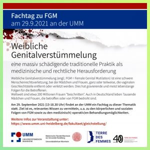 Read more about the article Fachtag zu FGM – 29.09.2021